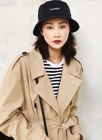 林鹏休闲率性时尚街拍图片