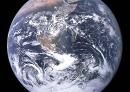 蓝色的地球图片_18张