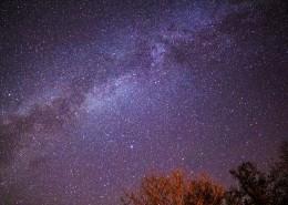 繁星点点的夜空图片_13张
