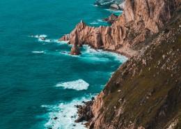 海岸线的美丽景色图片_12张