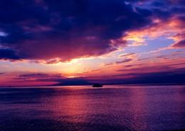 美丽的落日风景图片_21张