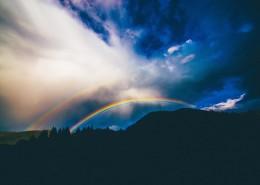 美丽的彩虹图片_12张
