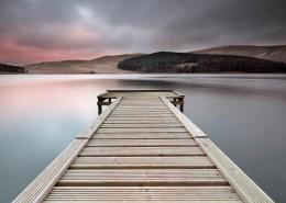 湖中的木桥图片_24张