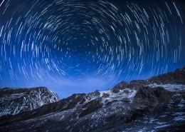 璀璨耀眼的星空景观图片_6张