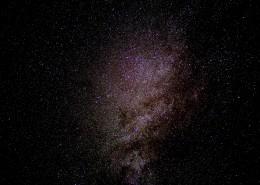 延时拍摄的星空图片_11张