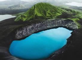 Iceland 冰岛,就像好大一块抹茶蛋糕