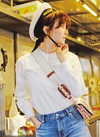 陈小纭复古摩登时尚写真图片