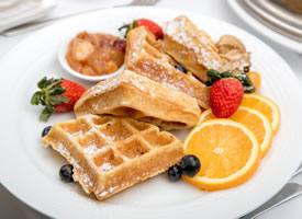 一组丰盛营养的早餐高清图片欣赏