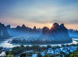 一组高清漓江山水美景图片欣赏