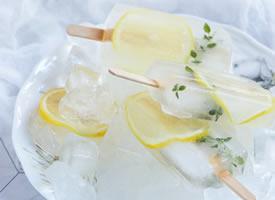 一组有创意看起来就很清凉的柠檬图片