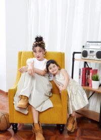 包文婧包可艾时尚杂志写真图片