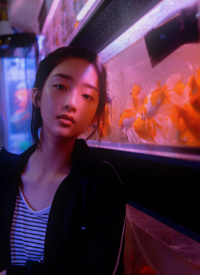 邓恩熙水族馆优雅写真图片