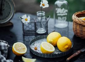 一组意境感超美的柠檬拍摄图片