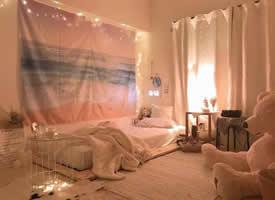 适合小女生温馨风格卧室装修效果图