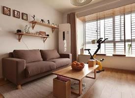 治愈系115㎡MUJI风三居室装修效果图