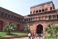 印度阿格拉红堡风景图片_16张