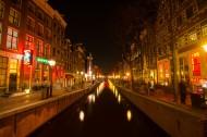 荷兰阿姆斯特丹夜景图片_12张