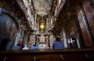 德国阿萨姆教堂风景图片_13张