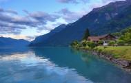 瑞士布里恩茨湖风景图片_14张
