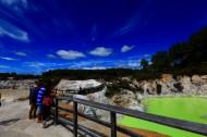 新西兰香槟池地热风景图片_11张