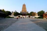 陕西西安大慈恩寺风景图片_10张