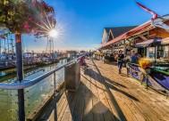 美国旧金山渔人码头风景图片_7张