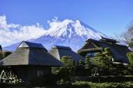 美丽的富士山图片_12张