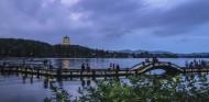 浙江杭州西湖夜景图片_8张