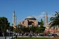 土耳其索菲亚大教堂风景图片_10张