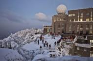 安徽雪后黄山风景图片_7张