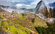 印加帝国古城遗址风景图片_10张