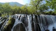 九寨沟的瀑布图片_15张