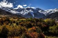 西藏来古冰川风景图片_11张