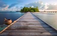 马尔代夫曼德芙岛风景图片_25张