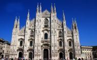 意大利米兰大教堂风景图片_16张