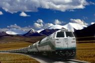 青藏铁路图片_5张