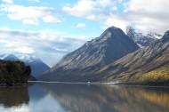 西藏然乌湖风景图片_9张