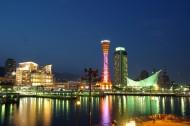 日本神户港口塔的图片_10张