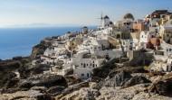 希腊圣托里尼岛风景图片_10张
