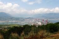 湖北三峡大坝风景图片_10张