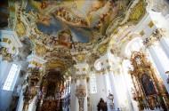 德国维斯圣地教堂风景图片_9张