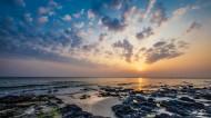 广西北海涠洲岛日落风景图片_8张