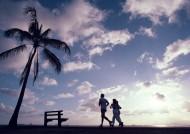 夏威夷的黄昏美景图片_28张