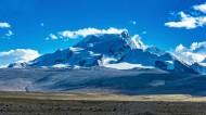 西藏希夏邦马峰风景图片_8张