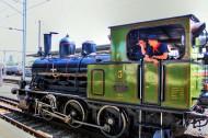 瑞士蒸汽火车公园风景图片_17张