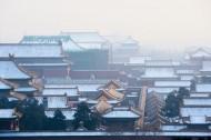 紫禁城雪景图片_9张