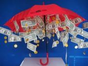创意美元雨伞图片_6张
