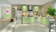 现代厨房装修设计图片_10张