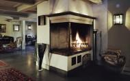 西式家庭壁炉图片_20张