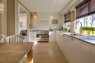 简洁干净的厨房图片_10张